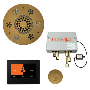 "ThermaSol Steam Shower Kit - The Total Wellness Package with 7"" ThermaTouch"