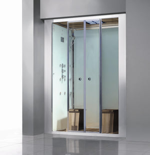 "Athena WS-112 Steam Shower 59"" x 36"" x 87"""