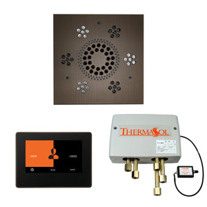 "ThermaSol Shower Kit - The Wellness Shower Package with 7"" ThermaTouch Trim Upgraded"
