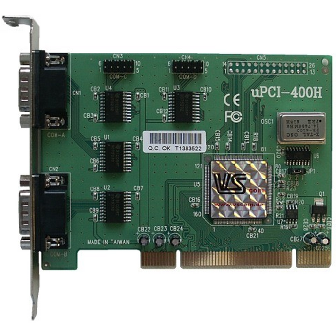 Card, Interface, VScom PCI to RS232, SP50/SJ50