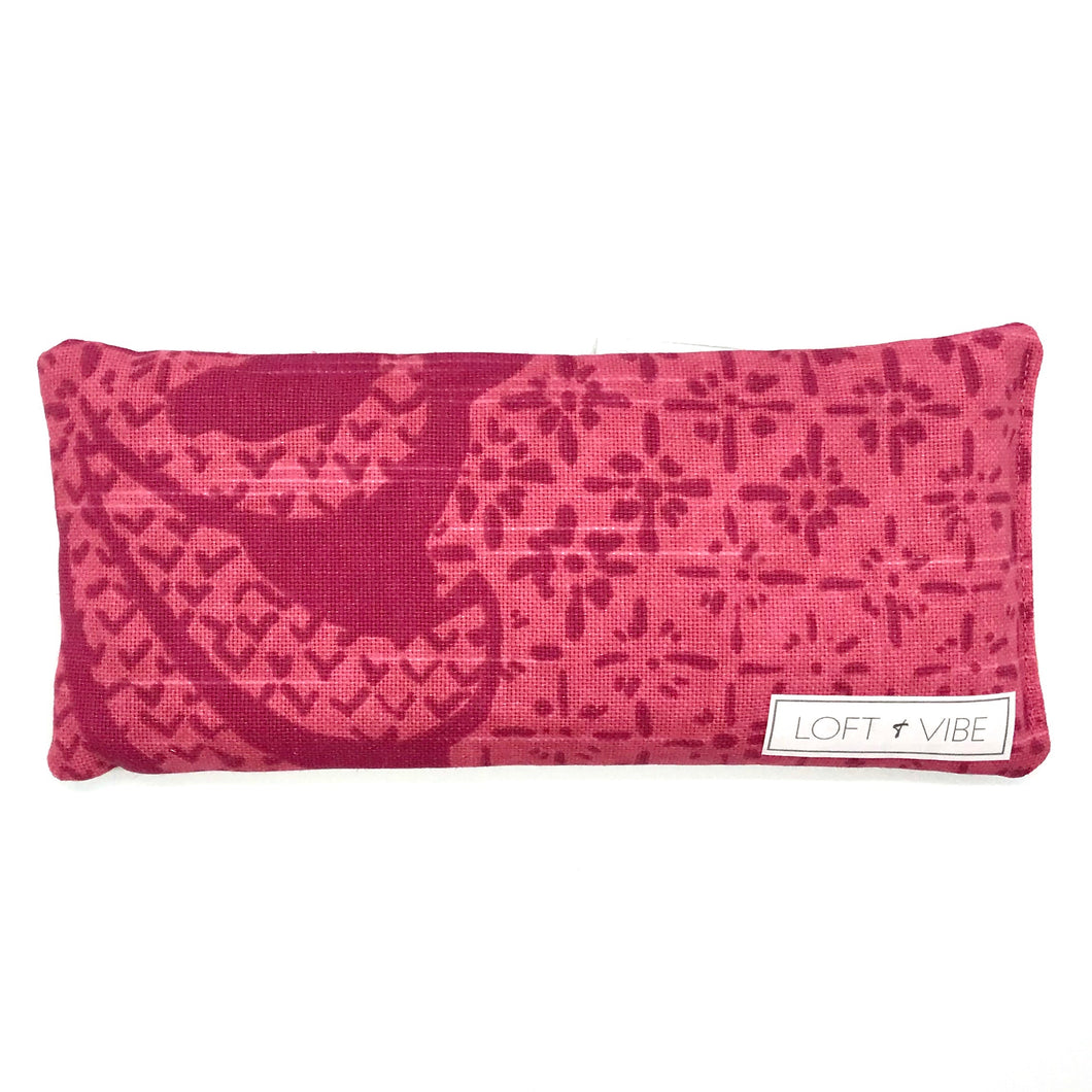 The Island Collection - Pink Orchid Eye Pillow