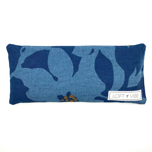 The Island Collection - Floral Blue Eye Pillow