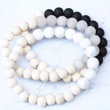 Load image into Gallery viewer, Neutral Collection - Howlite Diffuser Bracelet