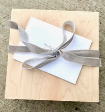 "Load image into Gallery viewer, 9.75"" x 9.75"" Handcrafted Gift Box"