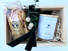 Load image into Gallery viewer, Gift Box with Lotion Candle and Olde Colony Baked Item