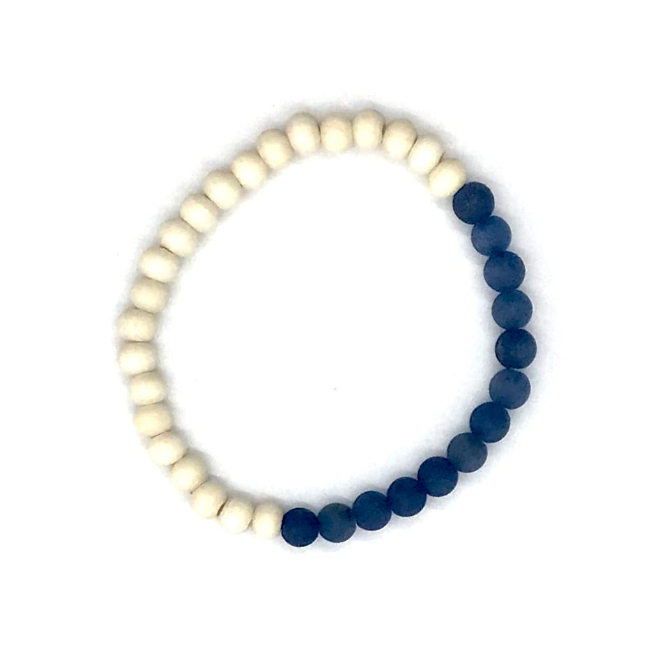 The Island Collection - Lapis Blue Diffuser Bracelet