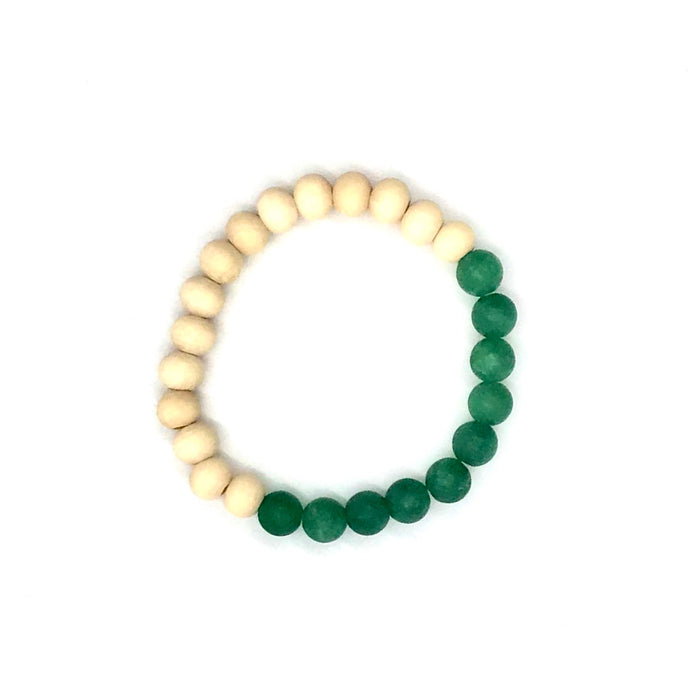 The Island Collection - Palm Green Diffuser Bracelet