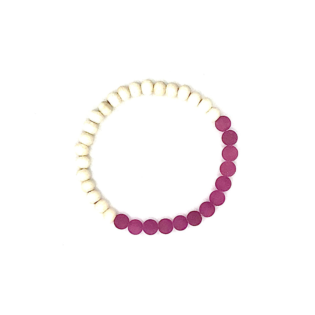 The Island Collection - Orchid Pink Diffuser Bracelet