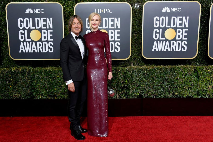Golden Globes Red Carpet Wins the Modesty Award