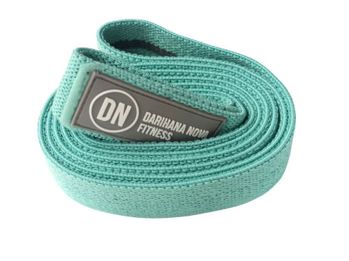 GRAY LOGO TEAL LONG BANDS
