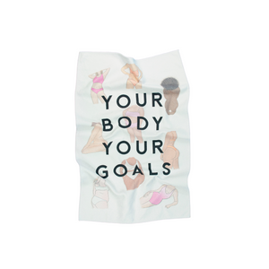 YOUR BODY YOUR GOALS TOWEL