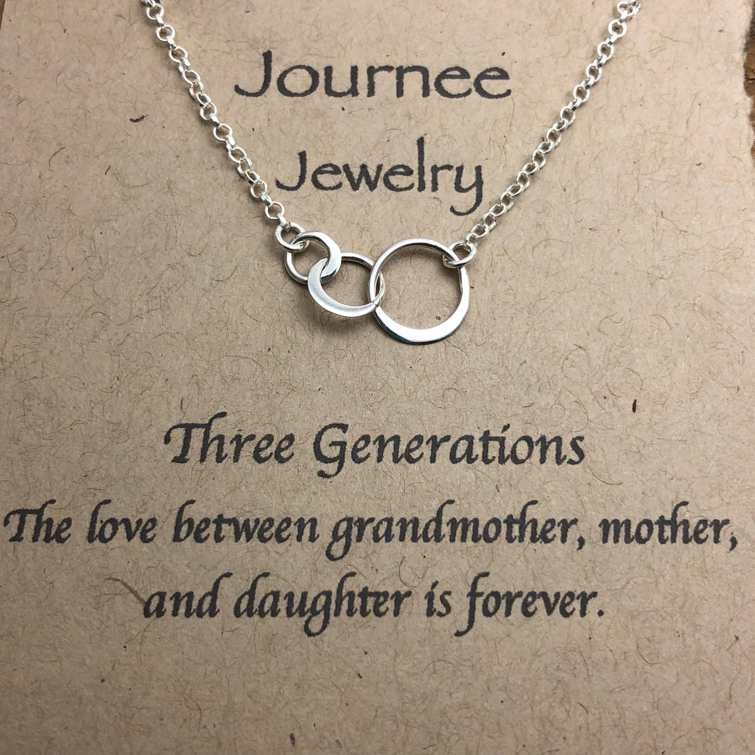 Three Generations Necklace