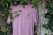 Just A Little Burnt Heather Purple Tee
