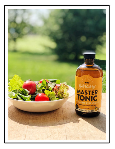 How to use Master Tonic in salad dressing recipe