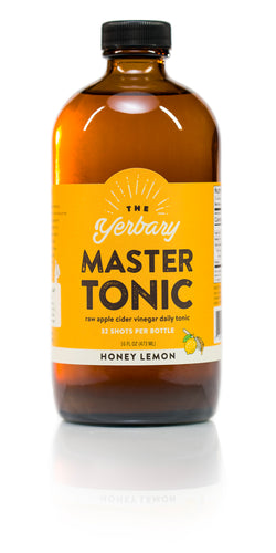 Master Tonic Honey Lemon 16 oz