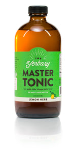 Master Tonic Lemon Herb 16 oz