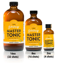 Master Tonic Honey Lemon 8 oz