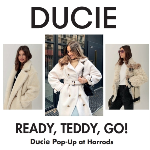 Ducie Pop-Up at Harrods