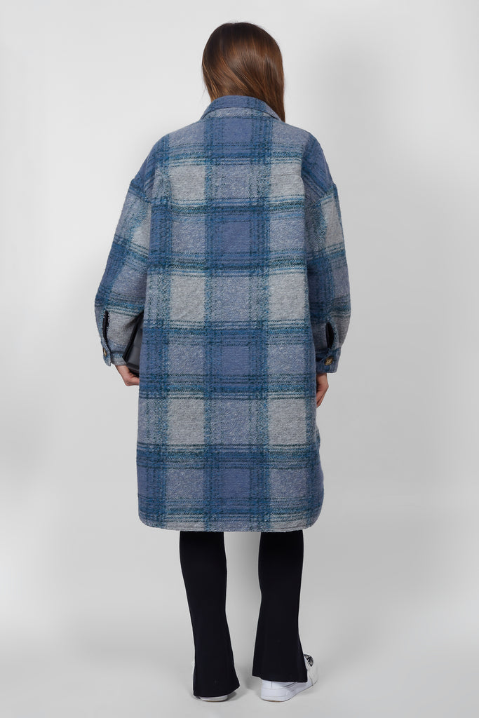 Abi Lined - Blue Check - PRE-ORDER