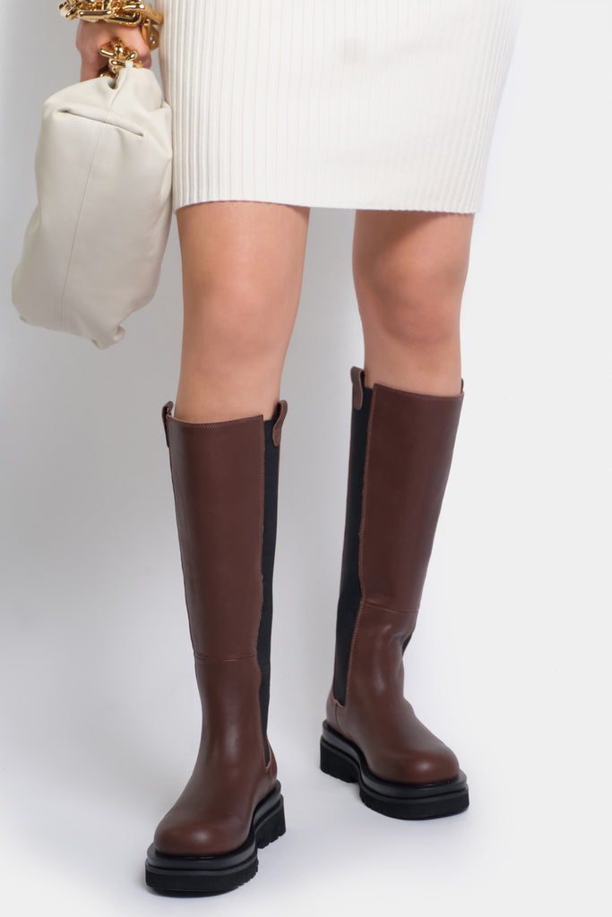 Kara Brown Long Boots - PRE-ORDER