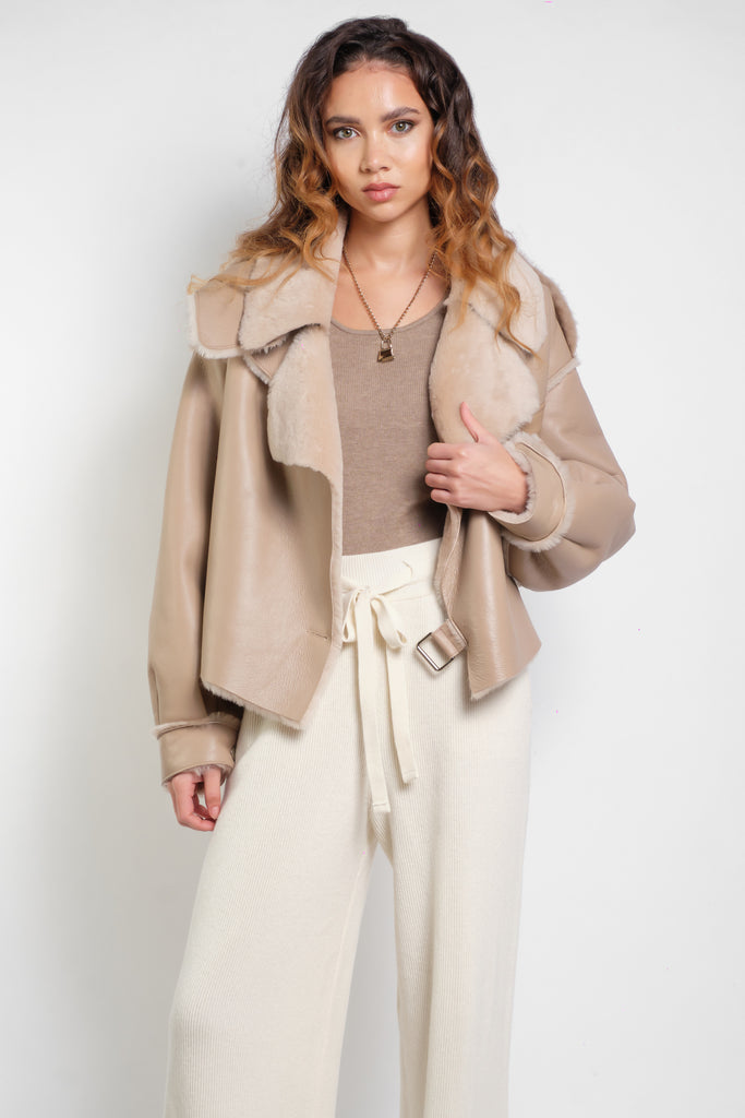 Simi Shearling - GENUINE LEATHER - PRE-ORDER