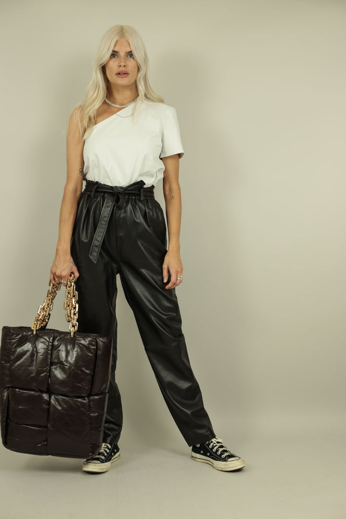LEA TROUSERS - BLACK