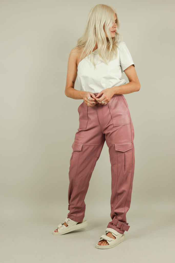 ZOE TROUSERS - PINK