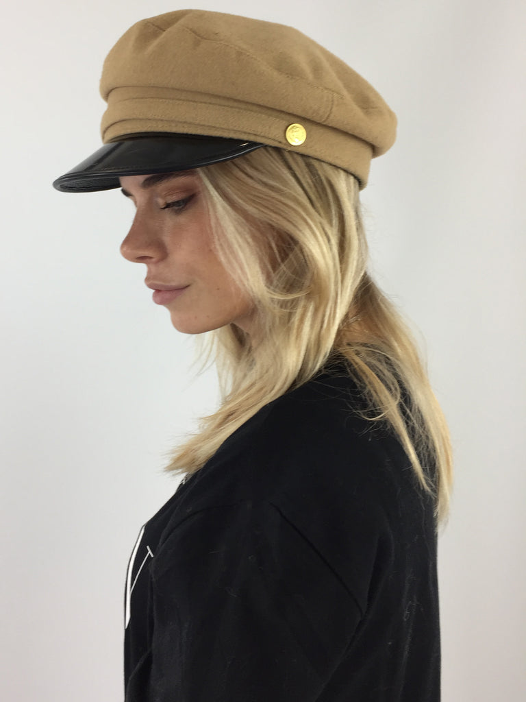 Sample Sale - 100% Camel Wool Hat
