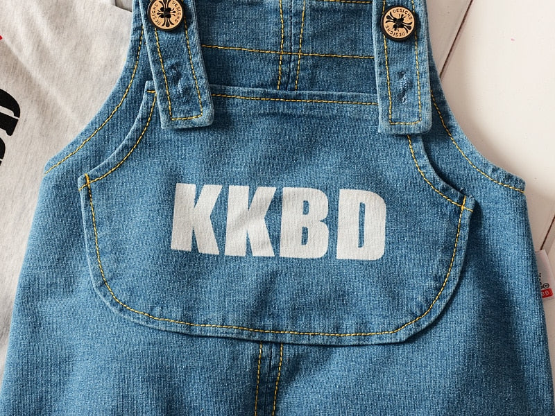 """Goldfish KKBD"" Jumper and Overalls"
