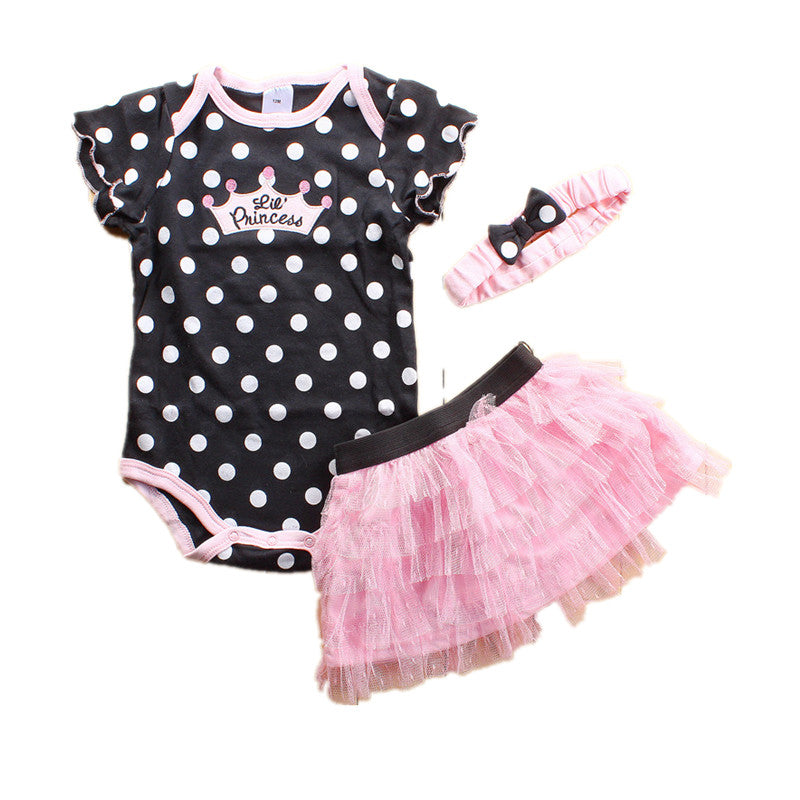 Newborn Girls 'Princess' 3 Piece
