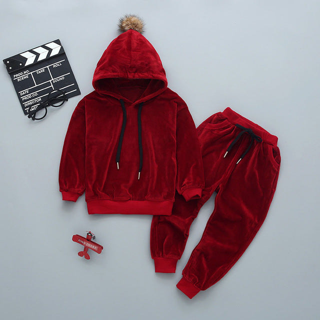 Bobble Hooded Tracksuit