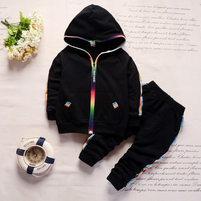 Uni-sex Long Sleeve Tracksuit