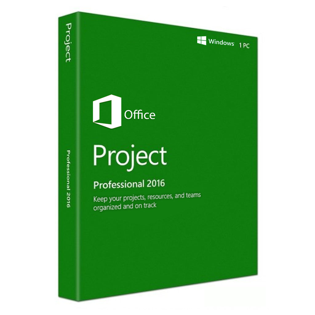 Project Professional 2016 For Windows PC
