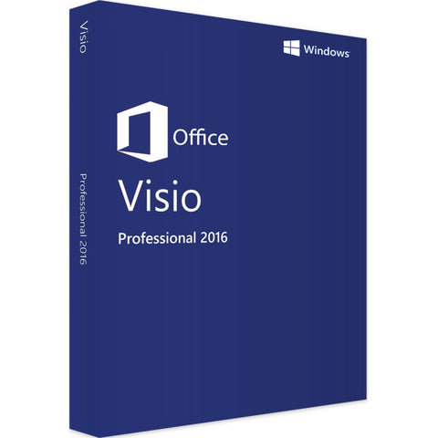 Visio Professional 2016 For Windows PC