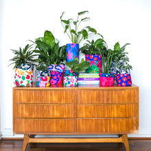 Load image into Gallery viewer, Fruity & Flower Power Large Plant Pot