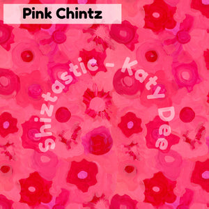 Pink Chintz' Hairtie