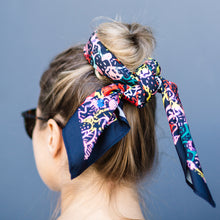 Load image into Gallery viewer, Wildflower Warhola' Headscarf