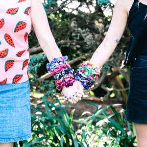 Wildflower Warhola' Scrunchie
