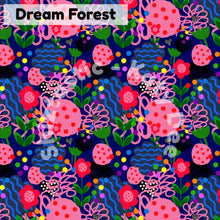 Load image into Gallery viewer, Pink Chintz & Dream Forest Small Fabric Plant Pot