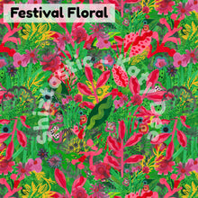 Load image into Gallery viewer, Festival Floral' Headscarf