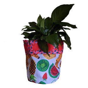 Fruity & Flower Power Large Plant Pot