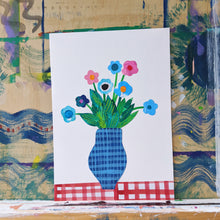 Load image into Gallery viewer, 'Table Flowers' A4 Original Artwork