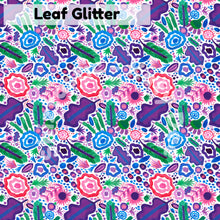 Load image into Gallery viewer, Leaf Glitter' Repeat Design