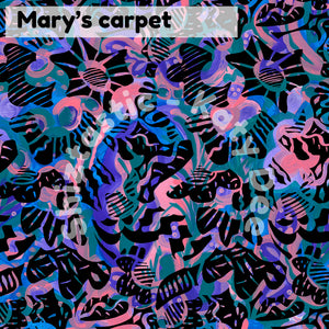 Mary's Carpet' Large Scarf