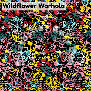 Wildflower met Warhola' Hairtie