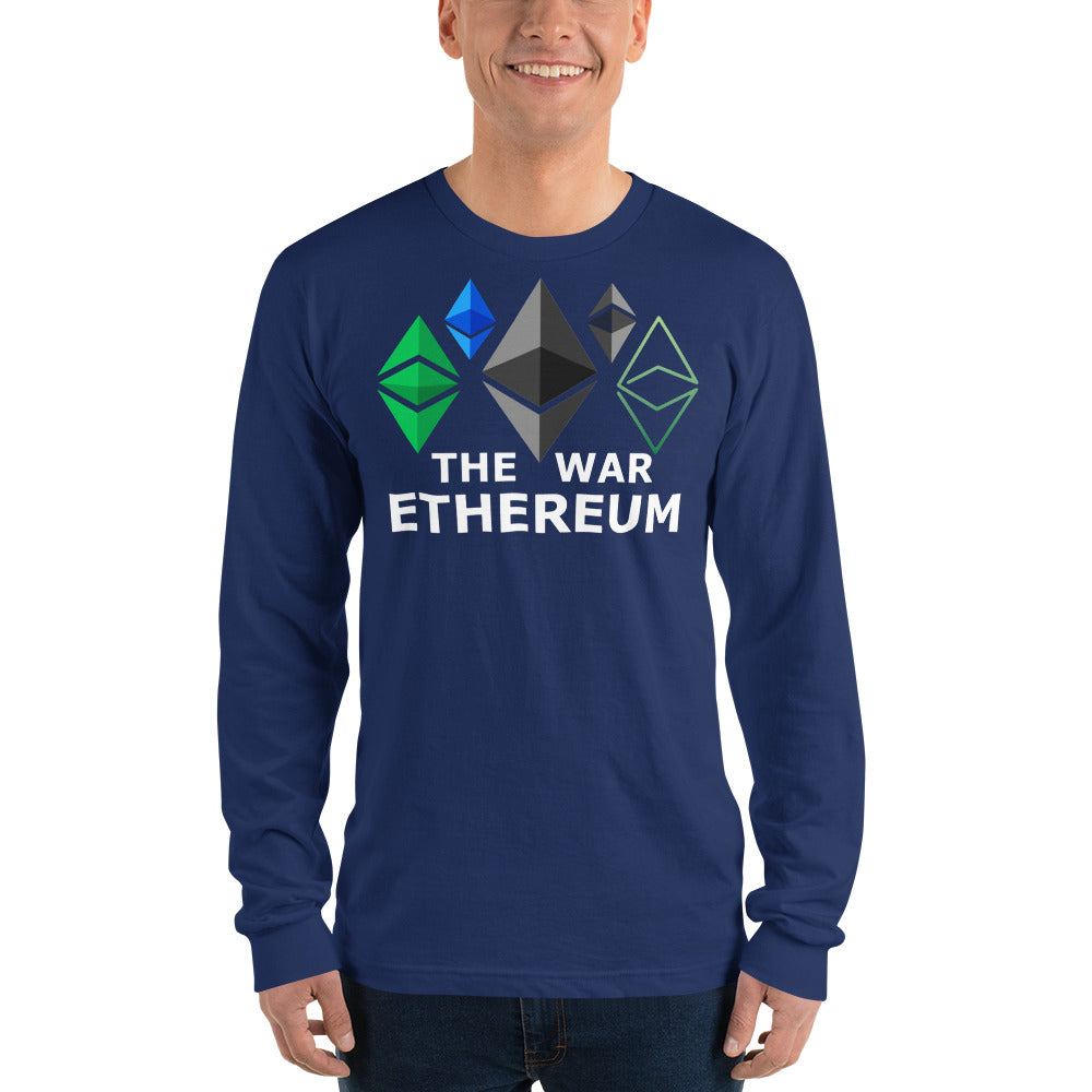 Ethereum War Long sleeve shirt (unisex)
