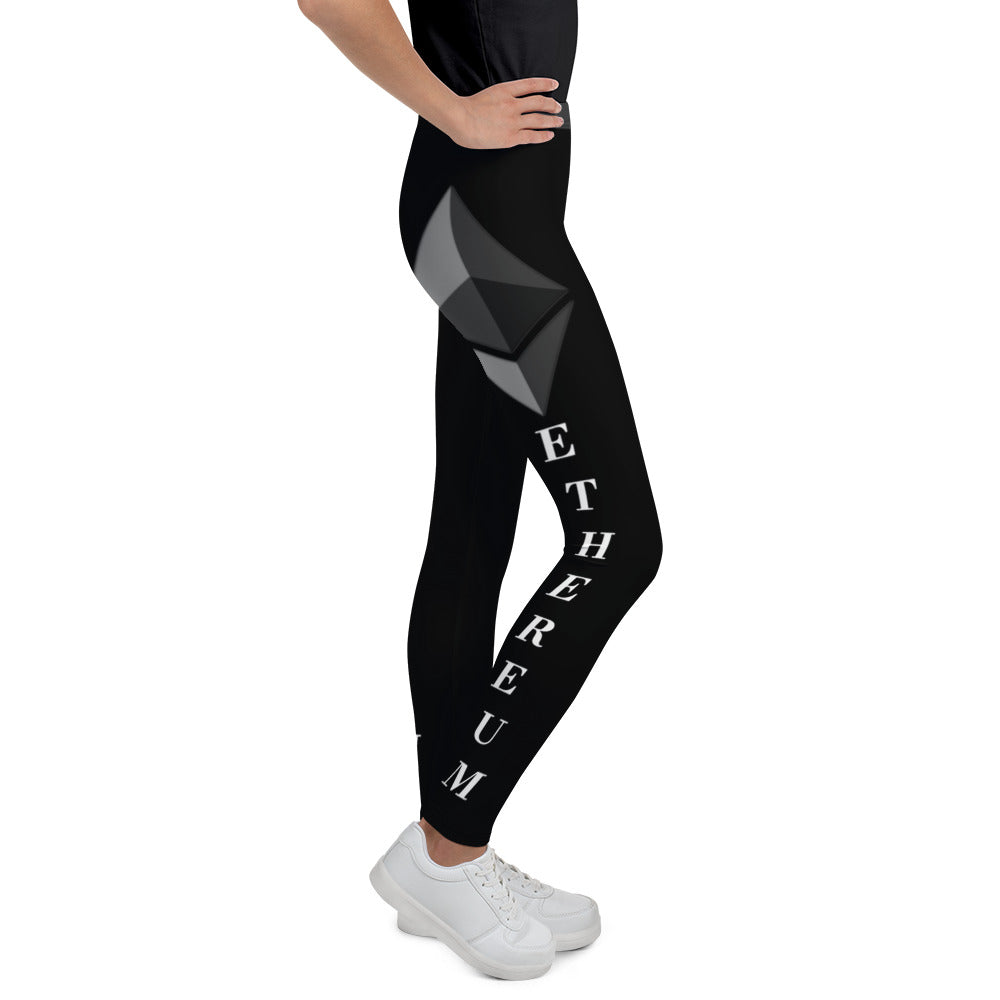 Ethereum Youth Leggings