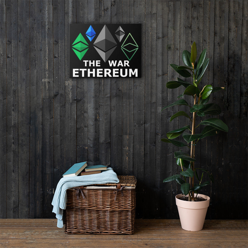 The Ethereum War Canvas