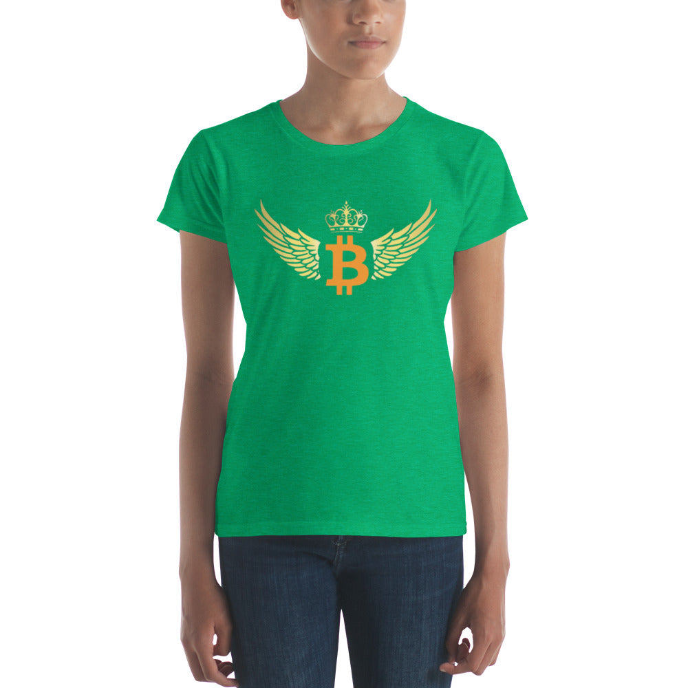 Women's Winged Bitcoin