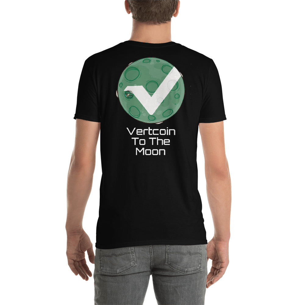 Vertcoin To The Moon Unisex T-Shirt
